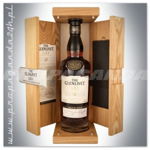 THE GLENLIVET XXV YO WHISKY SINGLE MALT 0,7L + SKRZYNIA