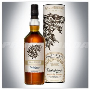 GAME OF THRONES 'House Stark' - DALWHINNIE WHISKY 0,7L + TUBA