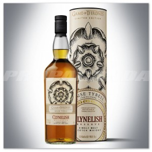 "GAME OF THRONES 'House Tyrell"" - CLYNELISH RESERVE 0,7L + TUBA"