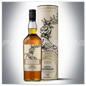 GAME OF THRONES 'House Baratheon' - ROYAL LOCHNAGAR 12YO 0,7L + TUBA