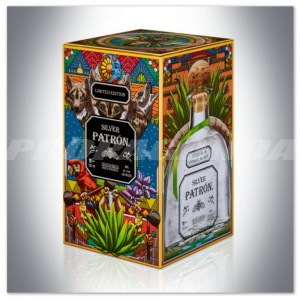 TEQUILA PATRON SILVER 0,7L LIMITED EDITION MEXICAN HERITAGE TIN