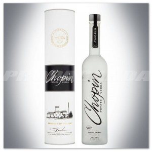 CHOPIN POTATO VODKA 0,7L + TUBA