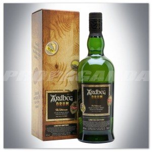 ARDBEG DRUM WHISKY SINGLE MALT 0,7L + KARTON