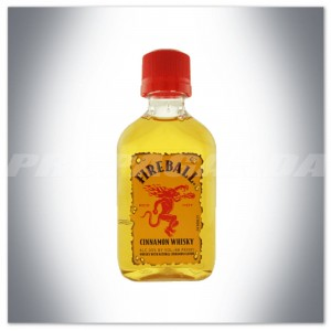 FIREBALL CINNAMON WHISKY 0,05L (MINI)