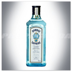 BOMBAY SAPPHIRE LONDON DRY GIN 0,5L