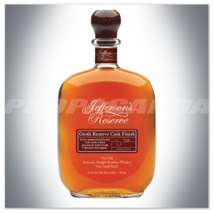 JEFFERSON'S RESERVE GROTH RESERVE CASK FINISH 0,7L