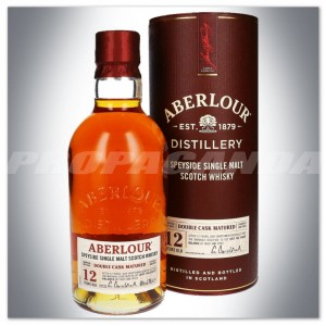 ABERLOUR 12YO WHISKY SINGLE MALT 0,7L + TUBA