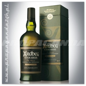 ARDBEG UIGEADAIL WHISKY SINGLE MALT 0,7L + KARTON