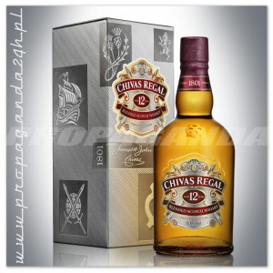 CHIVAS REGAL 12YO WHISKY 0,7L + KARTONIK