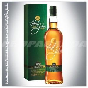 PAUL JOHN CLASSIC SELECT CASK WHISKY SINGLE MALT 0,7L + TUBA