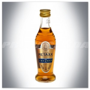 METAXA 7* ORIGINAL GREEK SPIRIT BRANDY 0,05L (MINI)