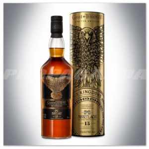 GRA O TRON 'SIX KINGDOMS' - MORTLACH 15YO WHISKY 0,7L + TUBA