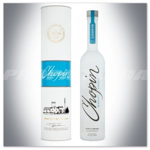 CHOPIN WHEAT VODKA 0,7L + TUBA