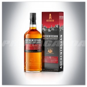 AUCHENTOSHAN 12YO SINGLE MALT WHISKY 0,7L + KARTONIK