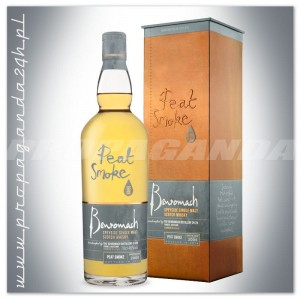 BENROMACH PEAT SMOKE WHISKY SINGLE MALT 0,7L + OPAKOWANIE