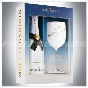 Szampan MOET & CHANDON ICE IMPERIAL DEMI SEC 0,75L + GLASS