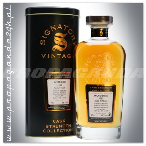 INCHMURRIN 1993 21YO SIGNATORY SINGLE MALT 0,7L + TUBA