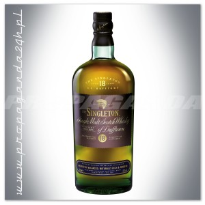 THE SINGLETON OF DUFFTOWN 18YO WHISKY SINGLE MALT 0,7L