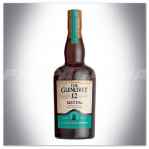 THE GLENLIVET 12YO ILLICIT STILL SINGLE MALT WHISKY 0,7L