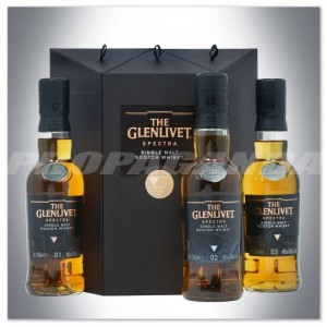 THE GLENLIVET SPECTRA SINGLE MALT WHISKY 3*200ML