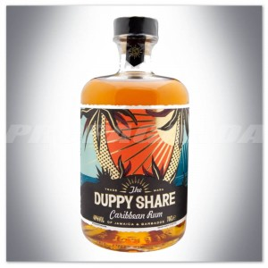 THE DUPPY SHARE AGED CARIBBEAN RUM 0,7L