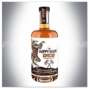 THE DUPPY SHARE SPICED CARIBBEAN RUM 0,7L