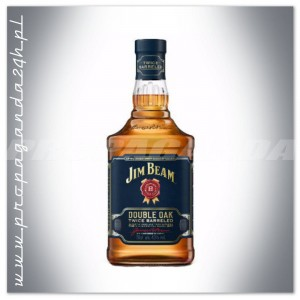 JIM BEAM DOUBLE OAK TWICE BARRELED BOURBON 0,7L