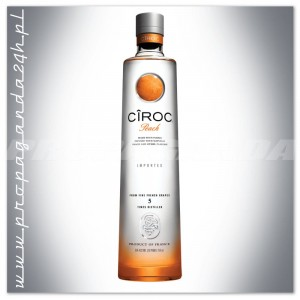 CIROC PEACH FLAVORED VODKA 0,7L