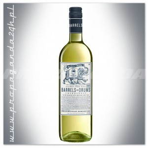 BARRELS AND DRUMS CHARDONNAY WINO BEZALKOHOLOWE 0,75L