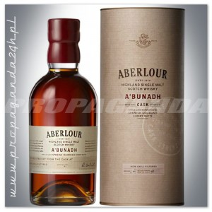 ABERLOUR A'BUNADH WHISKY SINGLE MALT  0,7L 60,7% + TUBA
