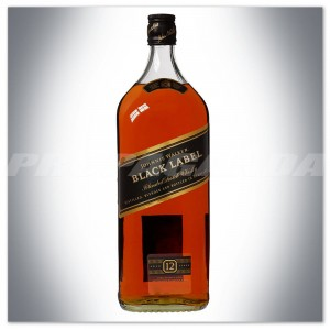 JOHNNIE WALKER BLACK LABEL WHISKY 3,0L