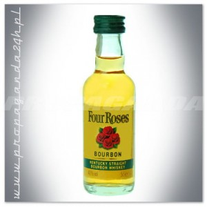 FOUR ROSES STRAIGHT BOURBON 0,05L (MINI)