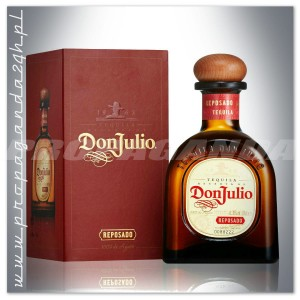 DON JULIO REPOSADO TEQUILA 0,7L + KARTONIK