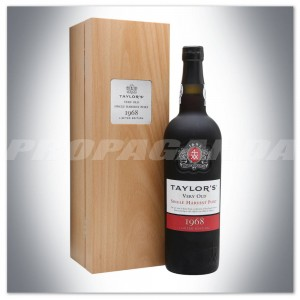 TAYLORS VERY OLD SINGLE HARVEST PORTO TAWNY 1968 (50YO)