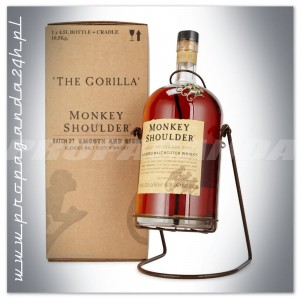 MONKEY SHOULDER WHISKY 4,5L KOŁYSKA + KARTON