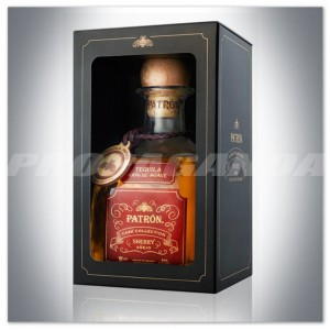 TEQUILA PATRON ANEJO CASK COLLECTION SHERRY CASK AGED 0,7L + KARTON