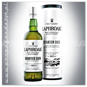 LAPHROAIG QUARTER CASK WHISKY SINGLE MALT 0,7L + TUBA