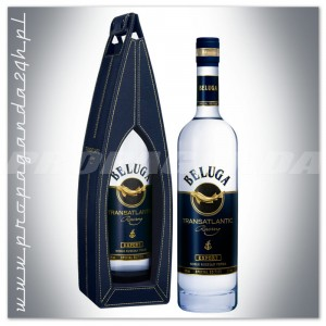 BELUGA TRANSATLANTIC RACING RUSSIAN VODKA 0,7L W SKÓRZE