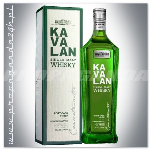 KAVALAN CONCERTMASTER WHISKY SINGLE MALT 0,7L + KARTONIK