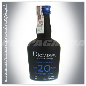 DICTADOR 20YO RUM 0,05L (MINI)