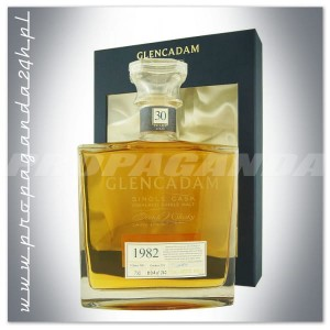 GLENCADAM 30YO SINGLE CASK 1982 0,7L + KARTON