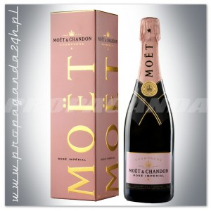 Szampan MOET & CHANDON ROSE IMPERIAL 0,75L + karton