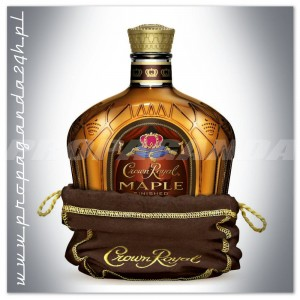 CROWN ROYAL MAPLE FINISHED 1,0L CANADIAN WHISKY