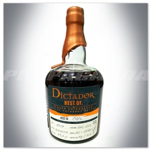 "DICTADOR RUM ""BEST OF 1982"" SHERRY CASK 0,7L - LIMITED RELEASE"
