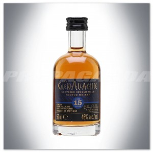 GLENALLACHIE 15YO WHISKY SINGLE MALT  0,05L (MINI)