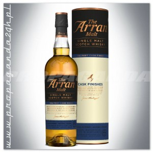 THE ARRAN MALT THE PORT CASK FINISH 0,7L + TUBA
