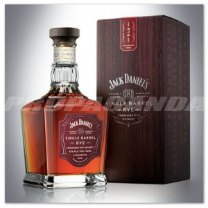 JACK DANIEL'S SINGLE BARREL RYE 0,7L + KARTONIK