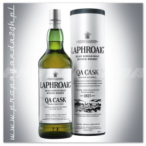 LAPHROAIG QA CASK DOUBLE MATURED WHISKY 1,0L + TUBA