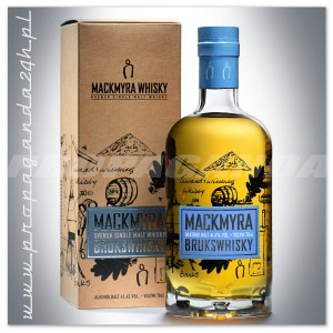 MACKMYRA BRUKSWHISKY WHISKY SINGLE MALT 0,7L + KARTON