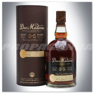 DOS MADERAS 5 + 5YO P.X. HANDCRAFTED RON 0,7L + SZKLANKA